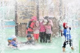 서산시 야외물놀이장, 시민들의 여름 피서지 각광